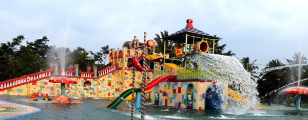 A Family Vacation In Cas Waterpark Cikole Pandeglang Banten